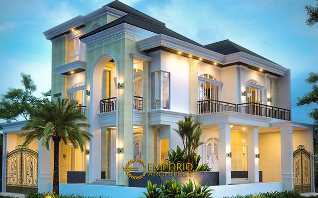 Mr. Julius Mediteran House 2 Floors Design - Jakarta