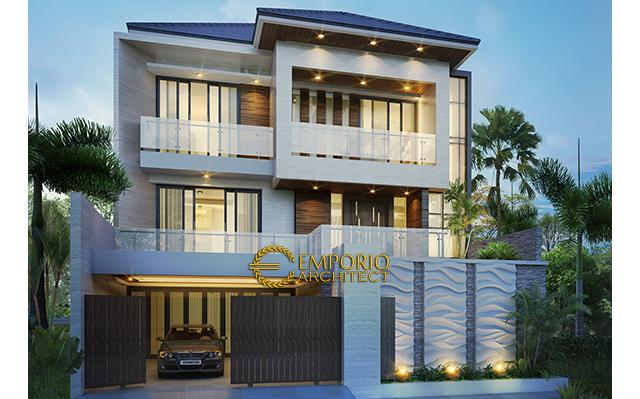 Mr. Kris MOdern House 3 Floors Design - Bogor