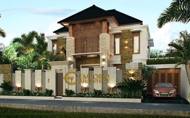 Desain Rumah Villa Bali 2 Lantai Bapak Made Ada di  Tabanan, Bali