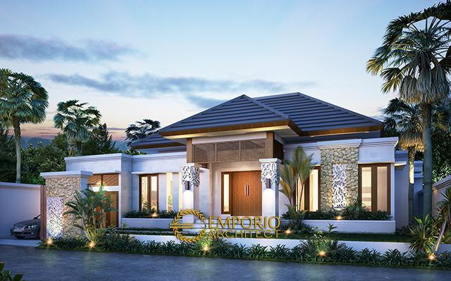 Desain Rumah Villa Bali 1 Lantai Bapak Maksi di  Flores, Nusa Tenggara Timur