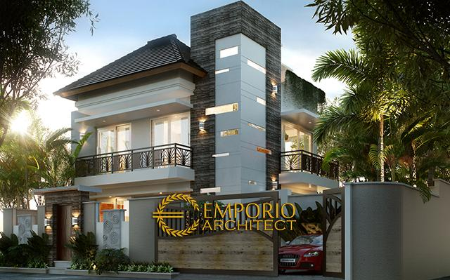 Mr. Mayor Modern House 2 Floors Design - Jimbaran, Bali