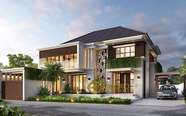 Mr. Muhajir Villa Bali House 2 Floors Design - Aceh