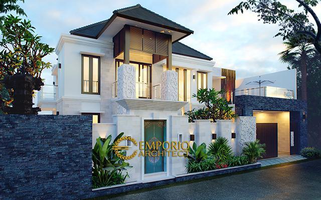 Desain Rumah Villa Bali 2 Lantai Bapak Partha di  Denpasar, Bali