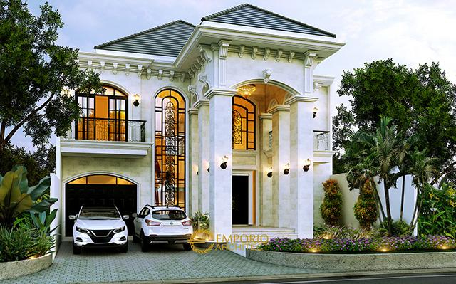 Mr. Pramudya Mediteran House 2 Floors Lot 8 Design - Sentul, Bogor