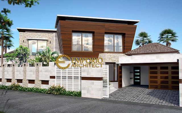 Desain Rumah Modern 2 Lantai Bapak Reza di  Bandung, Jawa Barat
