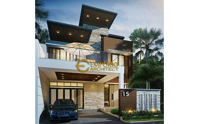 Mr. Riyanto Modern House 3 Floors Design - Bogor