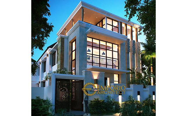 Mr. Saichu Modern House 3 Floors Design - Bandung
