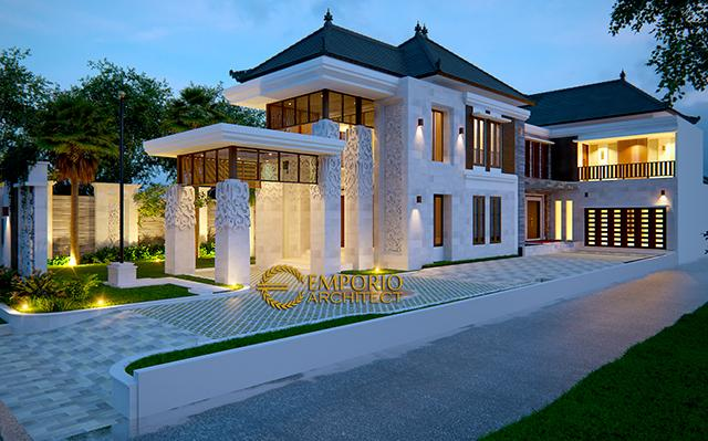 Mr. Tantra Villa Bali House 2 Floors Design - Medan