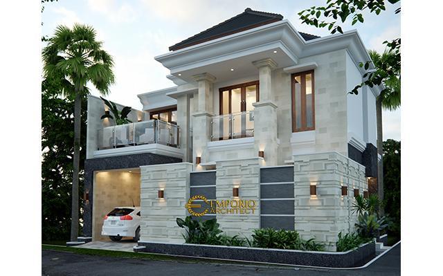 Desain Rumah Villa Bali 2 Lantai Bapak Taufik Arsa di  Mamuju, Sulawesi Barat