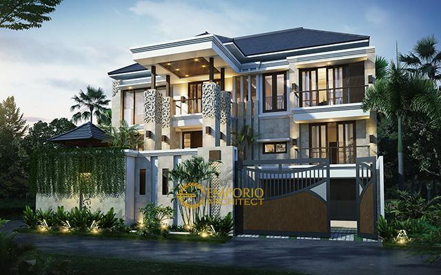 Mr. Teguh Villa Bali House 3 Floors Design - Jakarta