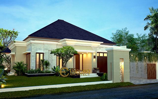 Desain Rumah Villa Bali 1 Lantai Bapak Toha di  Sumatera Utara