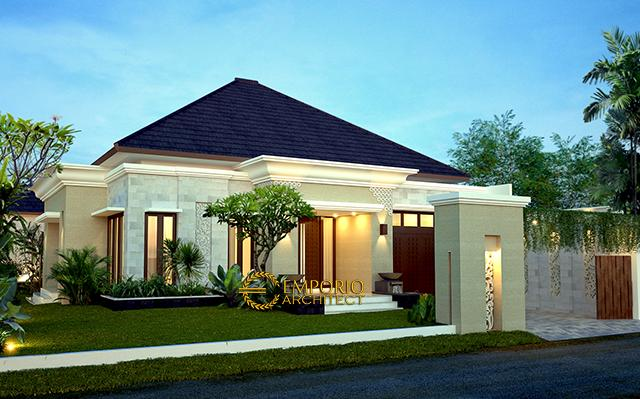 Mr. Toha Villa Bali House 1 Floor Design - Sumatera Utara