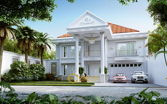 Mr. Tono Classic House 2 Floors Design - Serang, Banten