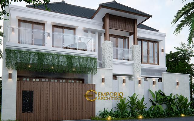 Desain Rumah Villa Bali 2 Lantai Bapak Wartawan di  Denpasar, Bali