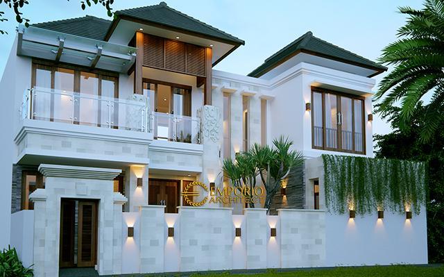 Desain Rumah Villa Bali 2 Lantai Bapak Yien di  Karangasem, Bali