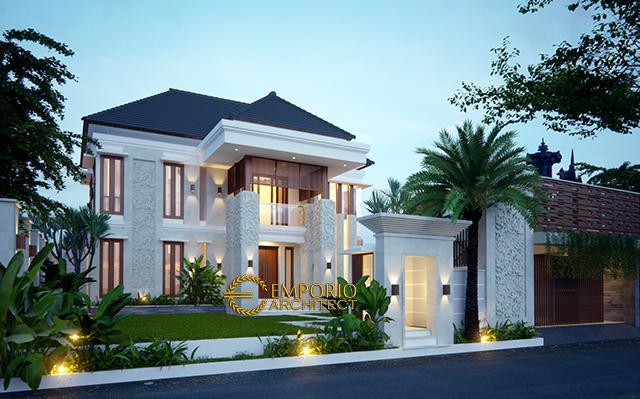 Desain Rumah Villa Bali 2 Lantai Ibu Ani di  Negara, Jembrana, Bali