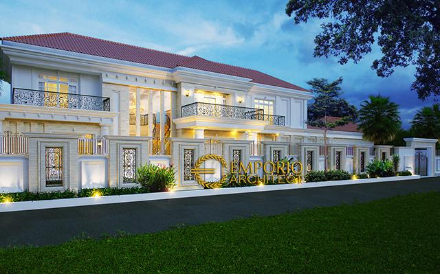 Mrs. Arum Classic House 2 Floors Design - Solo