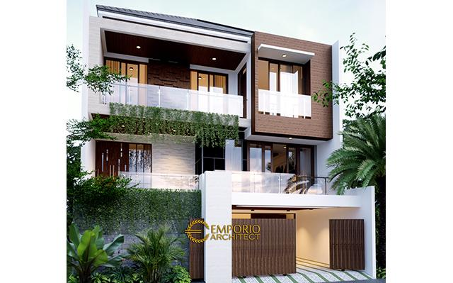 Mrs. Chris & Mr. Andrew Modern House 3 Floors Design - Jakarta