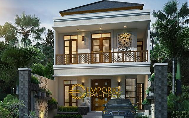 Desain Rumah Villa Bali 2 Lantai Ibu Imelda di  Denpasar, Bali