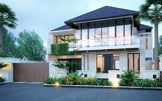 Mrs. Ista Modern House 2 Floors Design - Jakarta