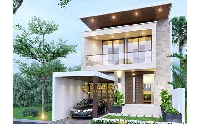 Mrs. Ocha Modern House 2 Floors Design - Jakarta