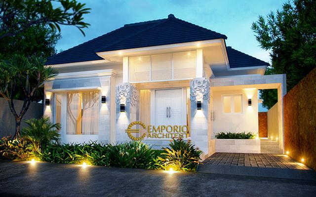 Desain Rumah Villa Bali 1 Lantai Ibu Silvia di  Singaraja, Bali