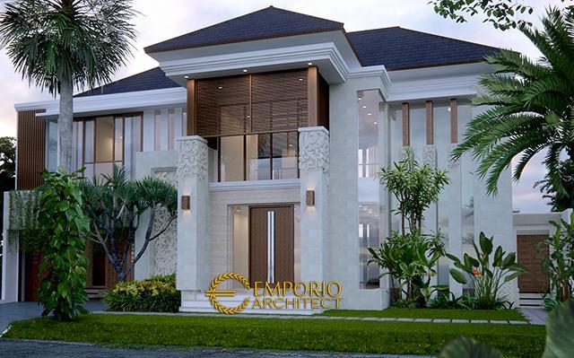 Desain Rumah Villa Bali 2 Lantai Ibu Yusoa di  Bekasi, Jawa Barat