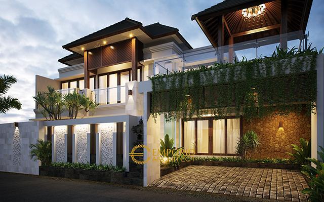 Mr. Ida Bagus Sindhu Villa Bali House 2 Floors Design - Singaraja, Bali