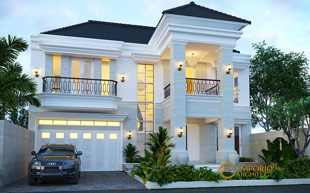Mrs. Ayu Classic House 2 Floors Design - Pantai Saba, Gianyar