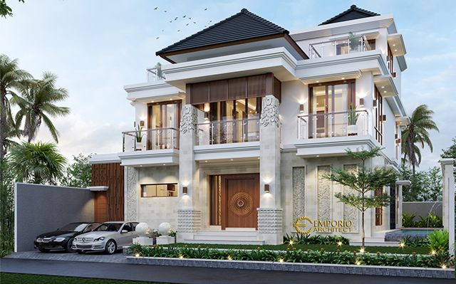 Mr. Vaibhav and Mr. Nilesh Villa Bali House 2 Floors Design - India