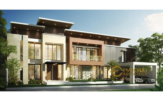 Mr. Aat Modern House 2 Floors Design - Indramayu, Jawa Barat