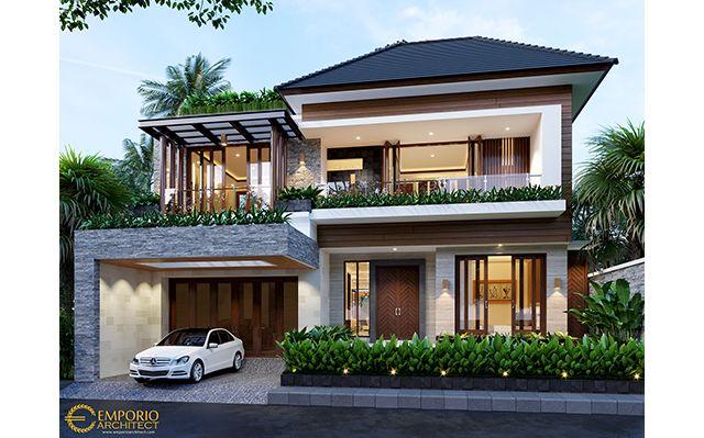 Mr. Hayadi Modern House 2 Floors Design - Jakarta Barat