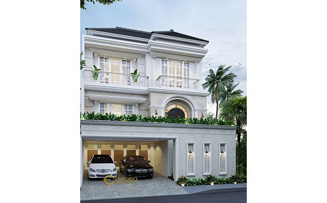 Mr. Indra Mediteran House 3 Floors Design - Jakarta Barat