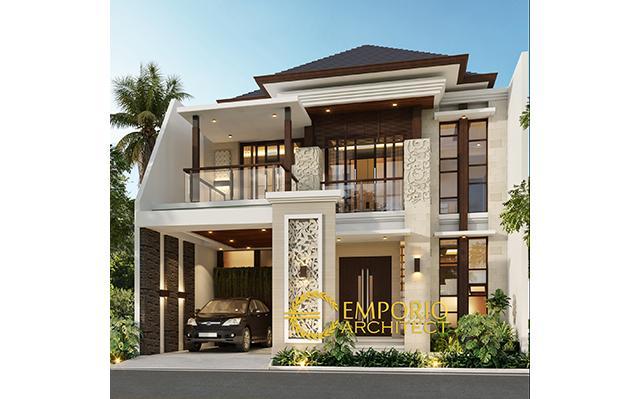Mrs. Rita Villa Bali House 2 Floors Design - Jakarta Barat