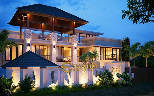 Mr. Edwin Villa Bali Office 3 Floors Design - Jakarta