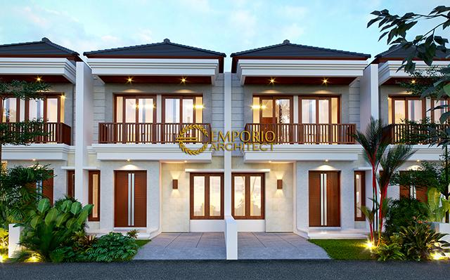 Desain Perumahan Arya Green Pamulang Villa Bali 2 Lantai Lebar 6 by Abipraya Properti di  Jakarta