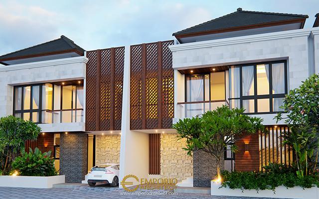 Desain Perumahan Modern 2 Lantai Arya Green Simatupang Type B di  Jakarta