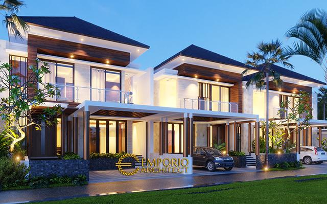 Mr. Rivan Modern House 2 Floors Design - Jakarta