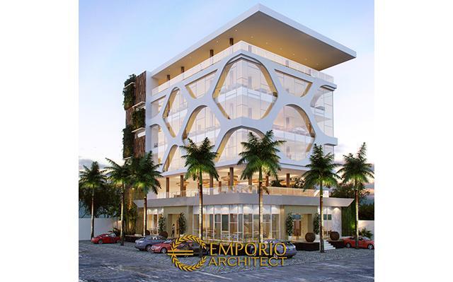 Desain Restoran Modern 6 Lantai Bapak Rudi Antoni di  Banjarbaru, Kalimantan Selatan