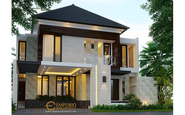 Mr. Agon Modern House 2 Floors Design - Jakarta