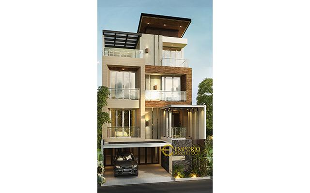 Mr. Alan Modern House 4 Floors Design - Jakarta