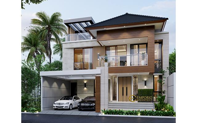 Mr. Andy Modern House 3 Floors Design - Jakarta
