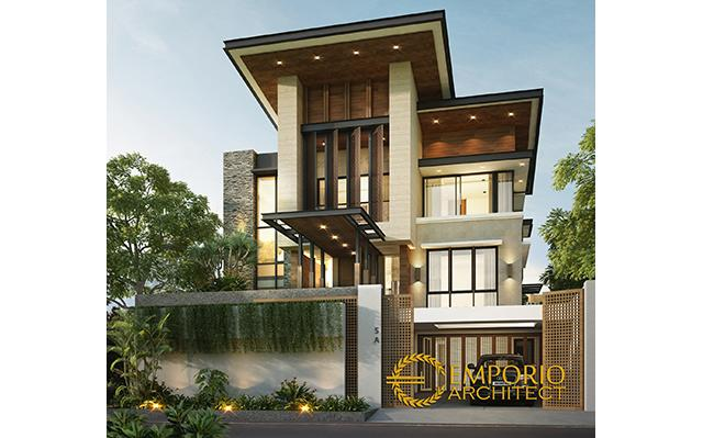 Mr. Arnold Modern House 3 Floors Design II - Jakarta
