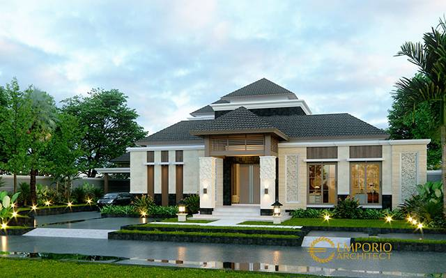 Mr. Chandra Villa Bali House 2 Floors Design - Jakarta