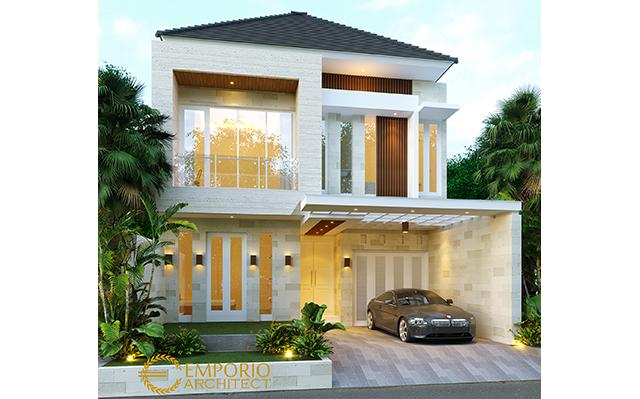 Mr. Denny Modern House 2 Floors Design - Jakarta