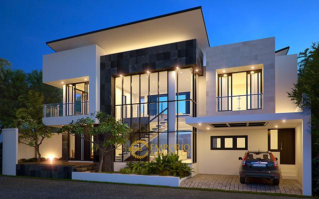 Mr. Doni Teguh Modern House 2 Floors Design - Bintaro