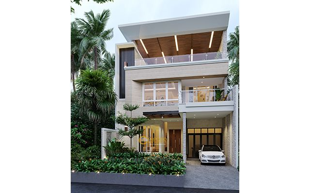 Mr. Eddy Modern House 3 Floors Design - Jakarta Utara