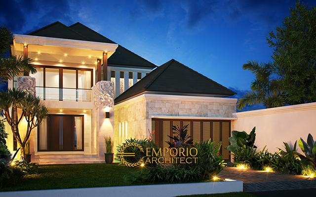 Mr. Ginting Villa Bali House 2 Floors Design - Mamuju, Sulawesi Barat