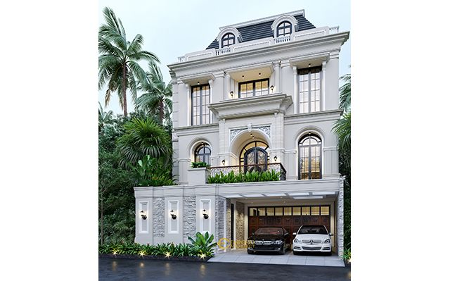 Mr. Gusti II Classic House 3 Floors Design - Jakarta