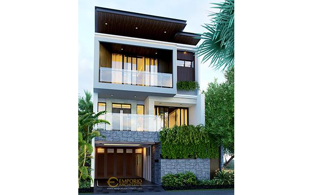 Mr. Hardy Modern House 3 Floors Design - Jakarta